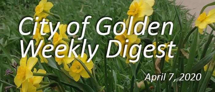 Weekly Digest April 7 2020