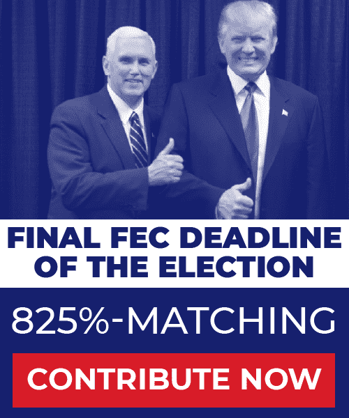 Final FEC Deadline of the Election: 825%-Matching