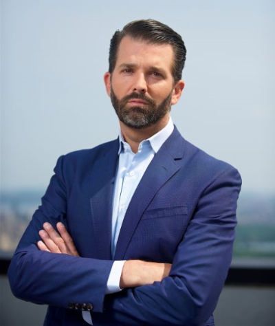 Donald Trump Jr. Signature Headshot