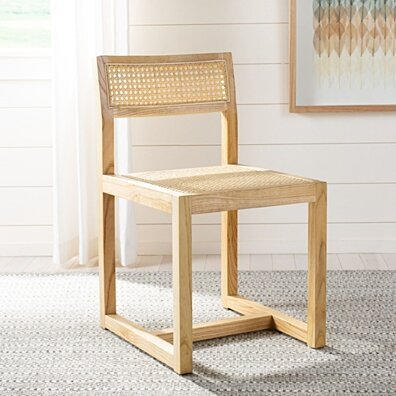 Bernice Cane Dining Chair Natural