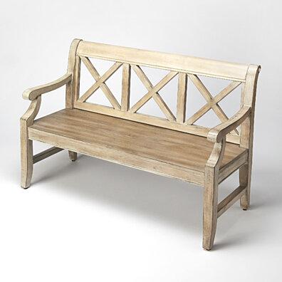 Butler Gerrit Driftwood Bench