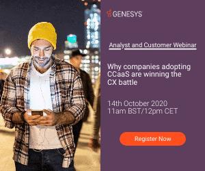 Genesys Webinar Advert