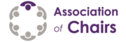AoC Logo. The Association of Chairs; supporting charity and non-profit chairs