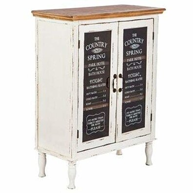 Farmhouse Cabinet with Glass Doors