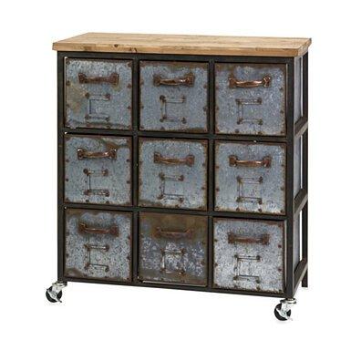 Stylish Holloway 9-Drawer Cabinet
