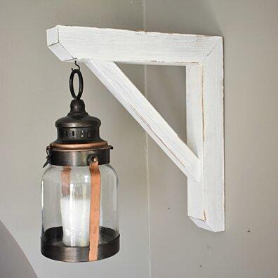 Rustic Wood Corbel, Decorative Corbel, Lantern Corbel, Wood Corbel, Shelf Bracket, Rustic Home Decor
