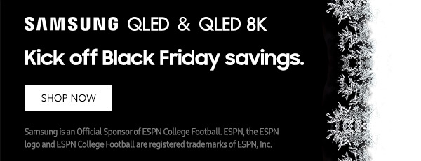 Kick off Black Friday Savings with Samsung