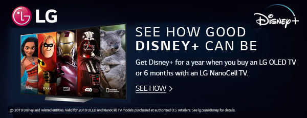 Disney+ with LG