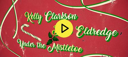 Kelly Clarkson - Under the Mistletoe (Lyric Video)