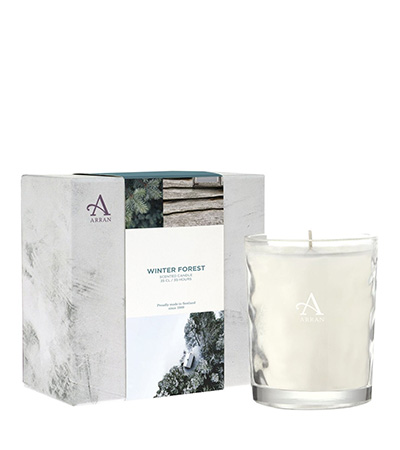 Winter Forest Candle | Arran Sense of Scotland