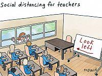 CARTOONS: Mark David goes back to school
