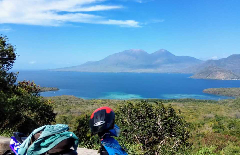Flores, a volcanic island in East Nusa Tenggara, generates 19 percent of the island's energy supply from renewable resources today. (JG Photo/Dion Bisara)
