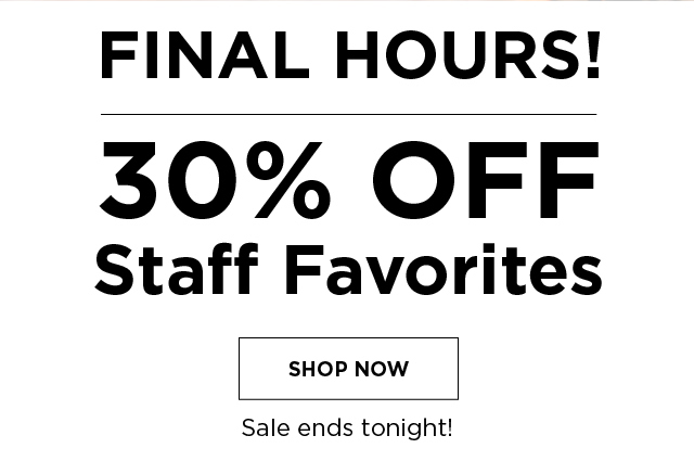 30% OFF Klean Staff Favorites. Sale ends tonight!