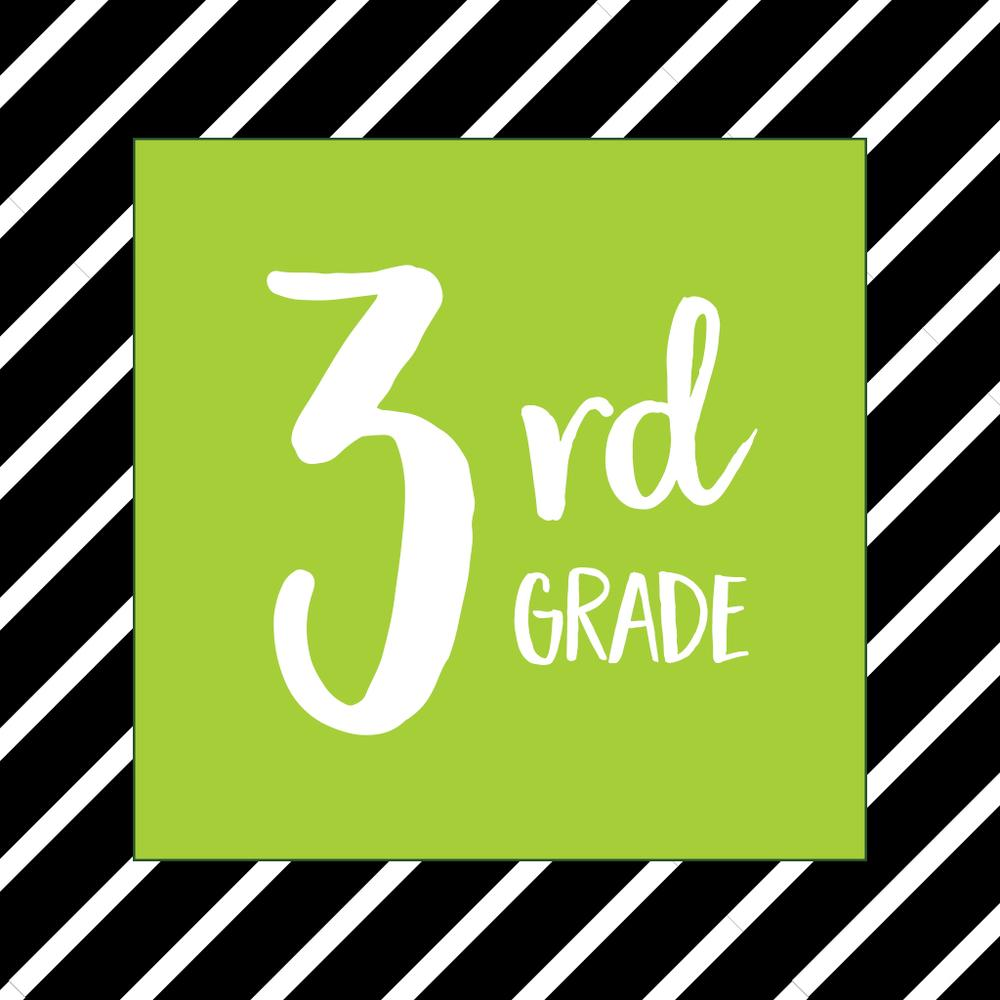 What should my 3rd grade child be learning?