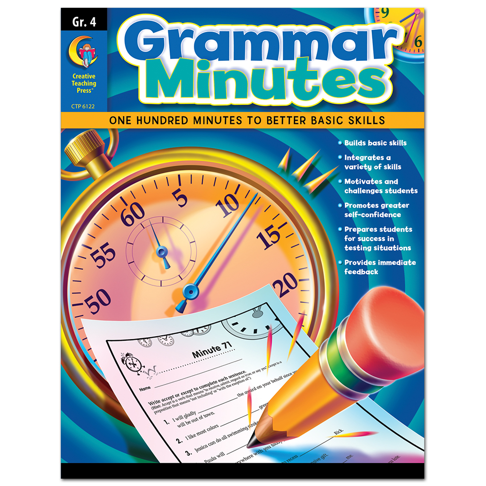 Grammar Minutes, Gr. 4
