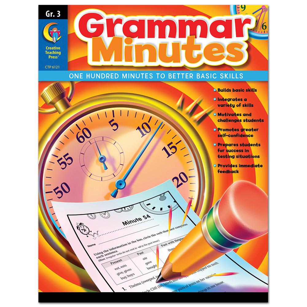 Grammar Minutes, Gr. 3