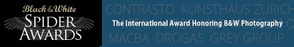 International Award Honoring B&W Photography - THESPIDERAWARDS.COM