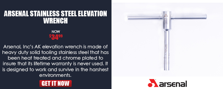 Elevation Wrench- stainless steel