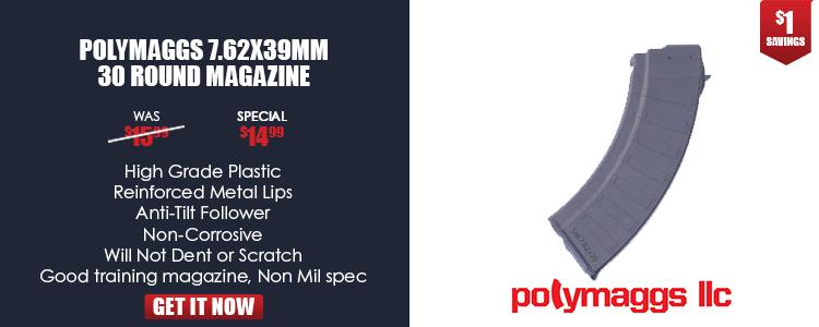 Magazine, 7.62x39mm, 30-round, polymer, Bulgarian