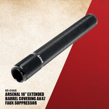 Arsenal Faux Suppressor AK47 Covering 16 Inch Extended Barrel