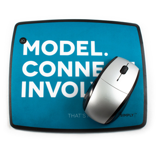 Lead Simply Mouse Pad
