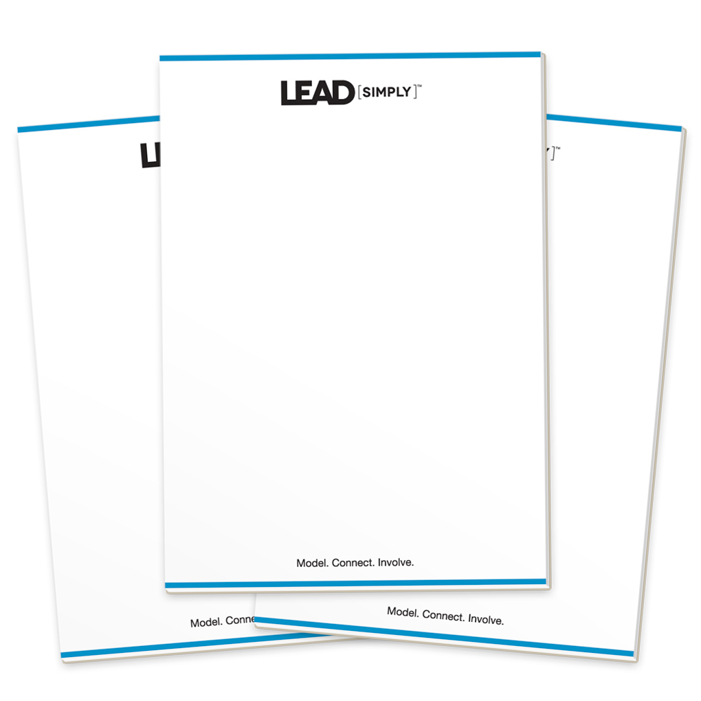 Lead Simply Notepads