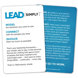 Lead Simply Pocket Cards