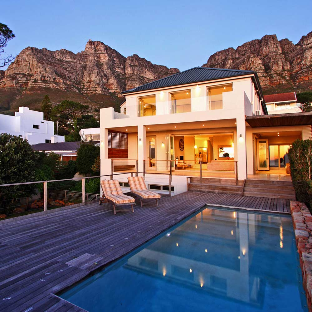 At the Foot of Table Mountain