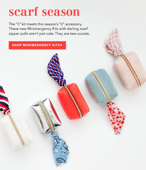 Scarf Season - Shop Minimergency Kits