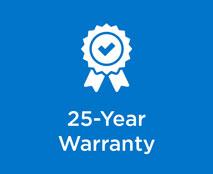 25- Year Warranty