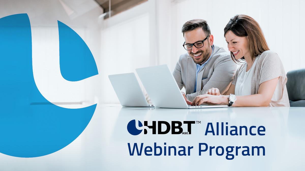 HDBaseT Alliance webinar twitter post