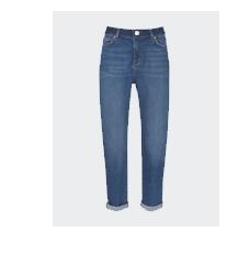 Dakota Indigo Boyfriend Jeans