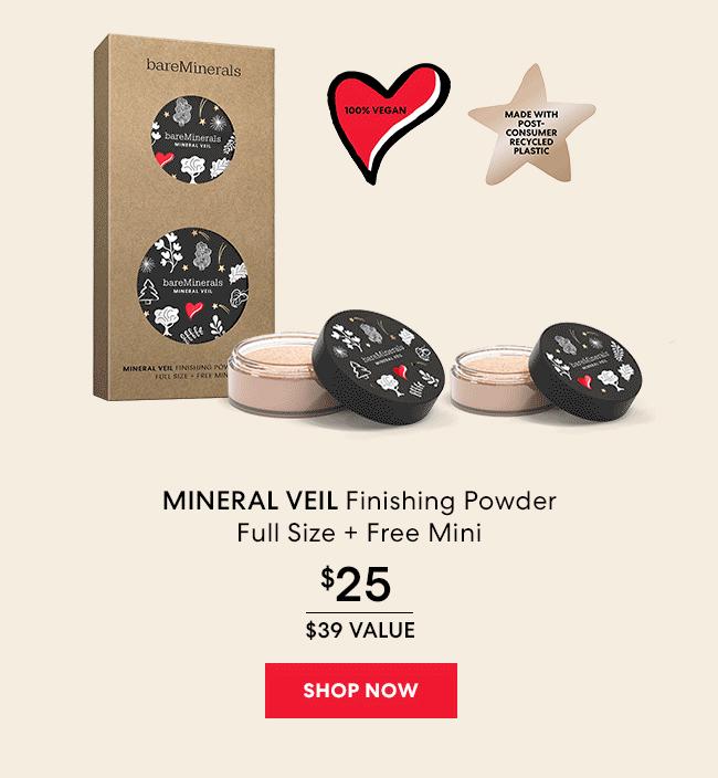 Mineral Veil Finishing Powder Full Size And Free Mini