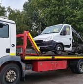Seized vehicle