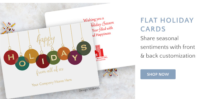 Shop Flat Holiday Cards