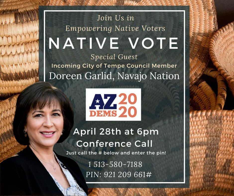 Join us in empowering Native voters