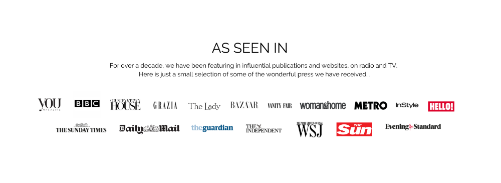 Just some of the press we've received internationally