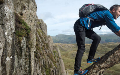 Scrambles in the Lake District - South: A sample route
