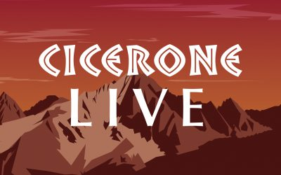 Upcoming Cicerone Live events - Paddy Dillon and Raynor Winn, and Alan Hinkes