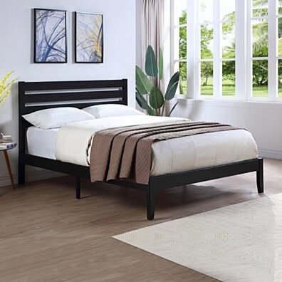 Kenley Queen Size Bed with Headboard
