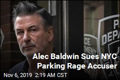 Alec Baldwin Sues NYC Parking Rage Accuser