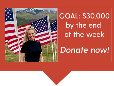 GOAL: $30,000 by the end of the week. Donate now!