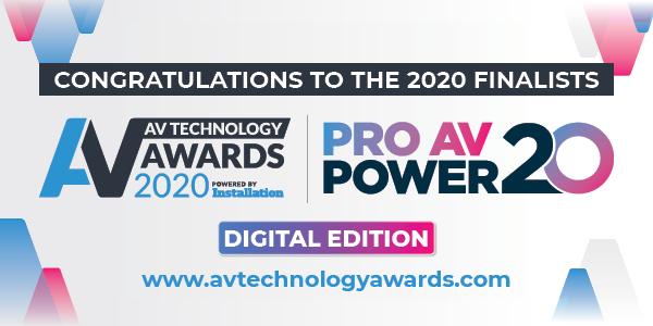 AV Technology Awards 2020