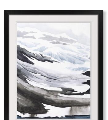Winter Walk I by Grace Popp
