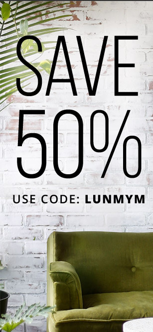 SAVE 50% with coupon code: LUNMYM