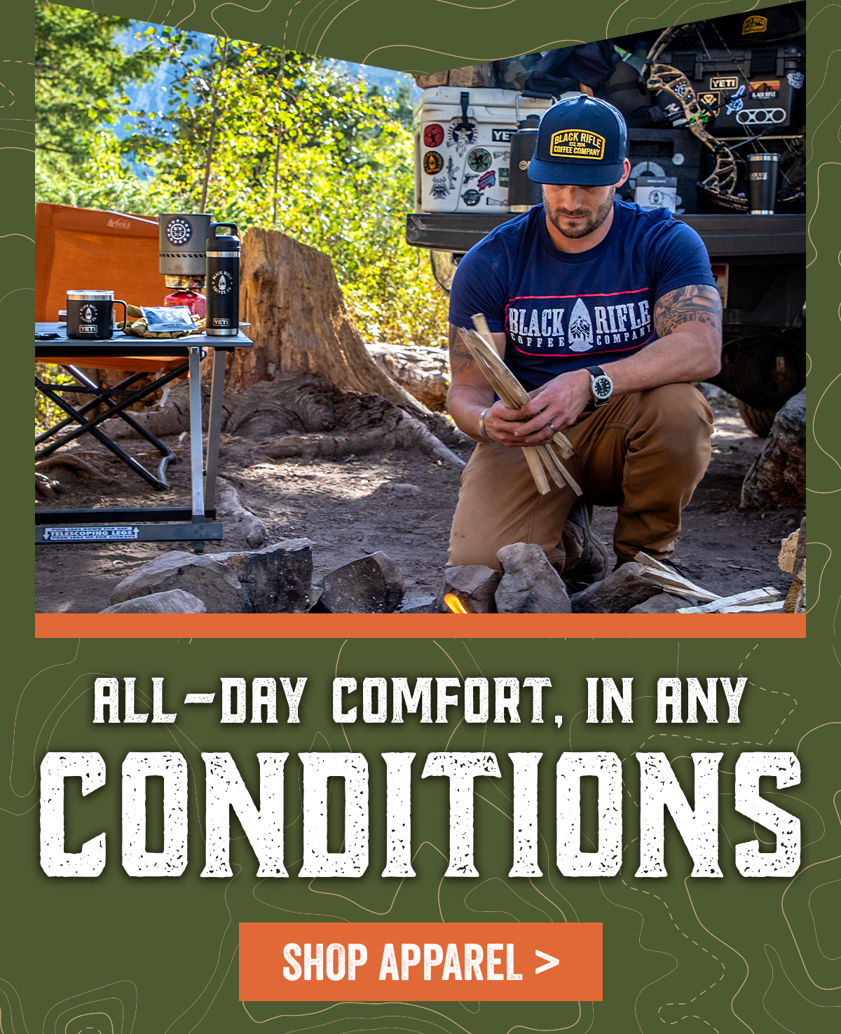 All-Day Comfort, in Any Conditions: Shop Apparel