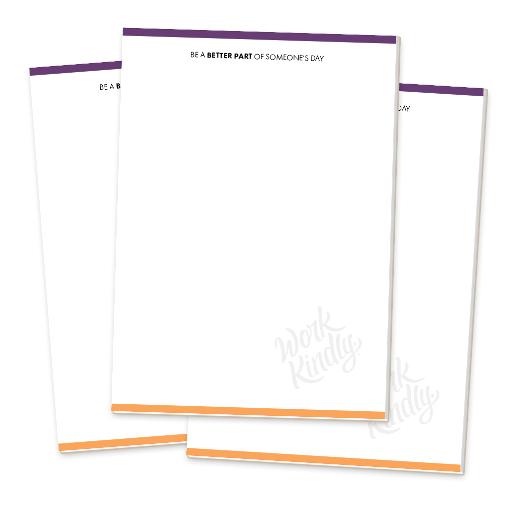 Work Kindly Notepads (3-pack)