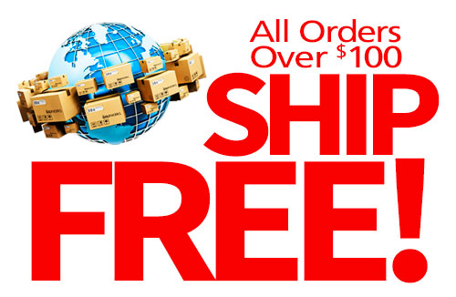 Free Shipping or Flat Rate Shipping On All Orders