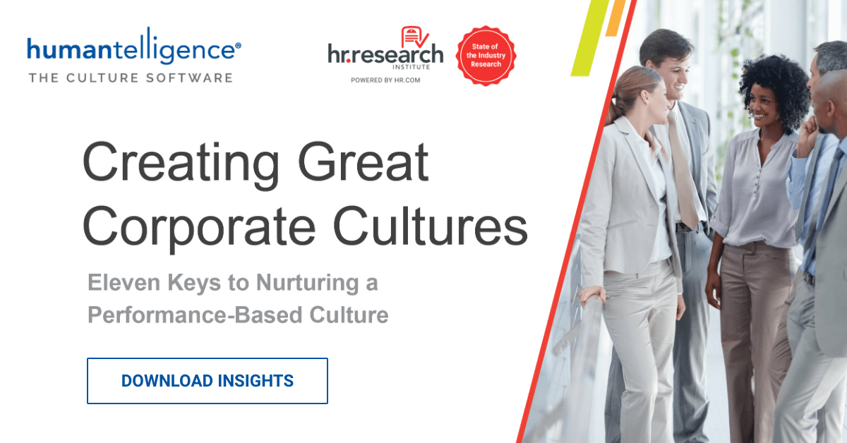 Creating Great Corporate Cultures HR.com Whitepaper