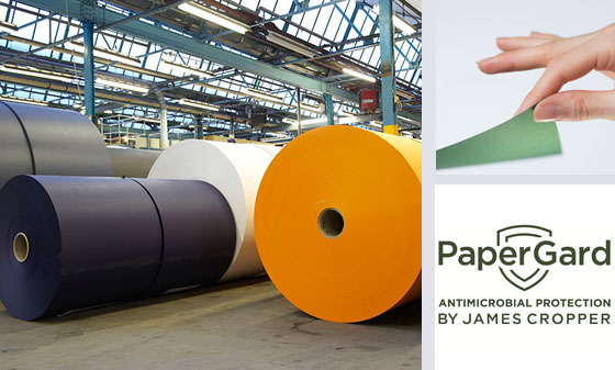 james cropper antiviral paper
